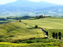 HD Tuscany Desktop Wallpaper 1554