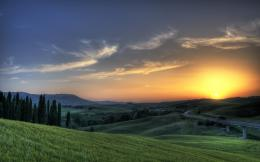 Sunset in Tuscany 960