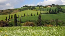 HomeWallpapersPhotographsLocalityTuscany hill 1771