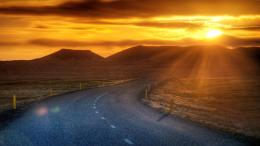 File Name : desert road at sunset hdr jpg Resolution : 1920x1920 Image 1556