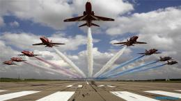 Royal Air Force Aerobatic Team Wallpapers hd 1911