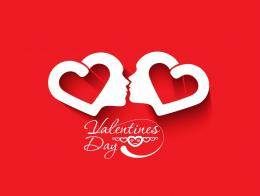Kiss Happy Valentines Day Wallpaper 1798