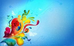 Beautiful Butterfly Colors ArtDesktop Wallpaper 1195