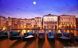 Evening Nature of Venice City Wallpaper 703