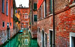 Widescreen HD WallpaperCityUrbanVenice water streets 526