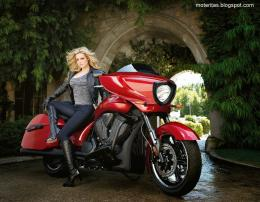 victory bike babe woman hd motorcycle hide definition wallpaper 477
