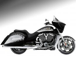 2010 VICTORY Cross Country Motorcycle Desktop Wallpaper 1030