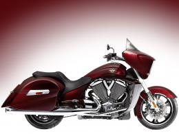 2010 VICTORY Cross Country Motorcycle Desktop Wallpaper 530