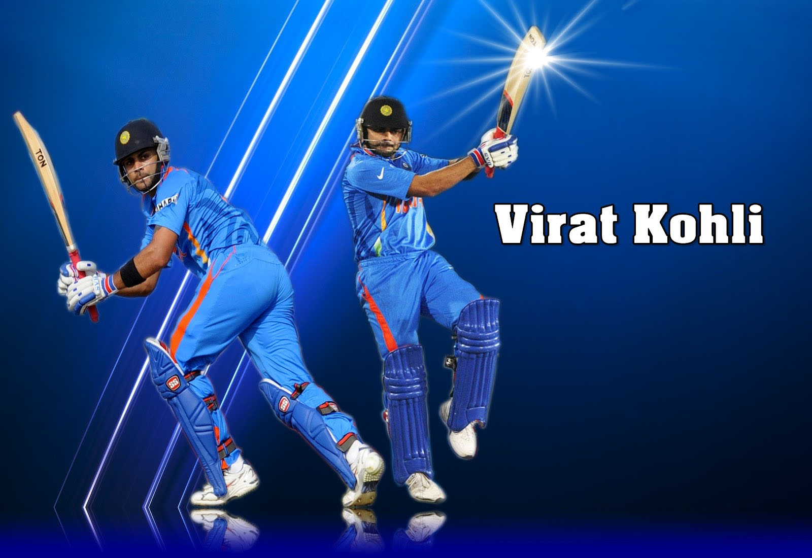 5 Batting Virat Kohli And Ms Dhoni Hd Full Wallpaper 494 Virat