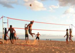 volleyball beach high definition wallpapers cool desktop widescreen 1676