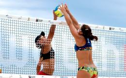 volleyball beach hd wallpapers widescreen desktop beach volleyball 1554