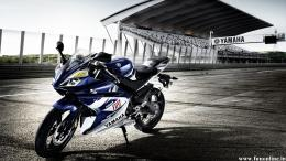 Sports Bike Yamaha R6 Wallpaper 1435