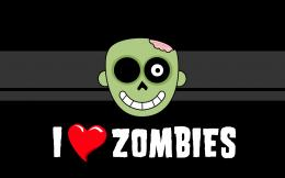 Love Zombies HD Wallpaper #2790 484