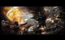 world war z zombie battle of yonkers wallpaper zombie background 1714