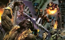 marvel zombies HD Wallpaper of Cartoon & Animation 510