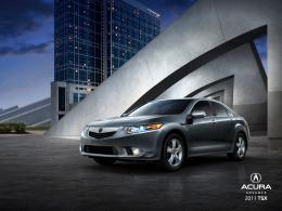 2011 Acura TSX Wallpaper2| Sense The Car 1342