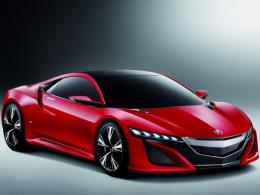 Red Concept Acura Car Hd Wallpaper | Wallpaper List 1728