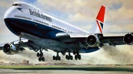 Aircraft Hd Painting Wallpaper with 1366x768 Resolution 861