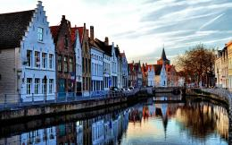 Lovely Cityscape Of Amsterdam Wide Desktop Background HD wallpapers 1983