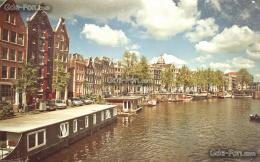 wallpaper Amsterdam, channel, Boat, sun free desktop wallpaper 1795