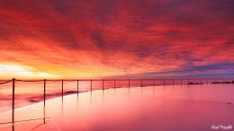 sunset beach australia wallpaper wallpapers 1920x1080 mrwallpaper com 748