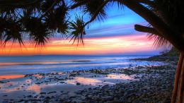 nature wallpapers sunset australia wallpaper noosa beach beaches 141