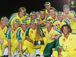 The Australian Cricket teamThe Australian Cricket Team Photo 878