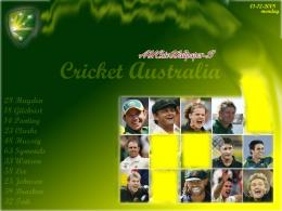 Australian Cricket Team Wallpaper: Oz Cricket Team Wallpaper 1092