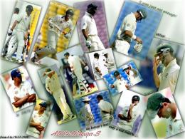 "Australian Cricket Team Wallpaper: Australia Vs India ""NAGPUR 858"