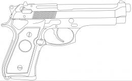 Beretta 92 Hd Wallpapers 1327