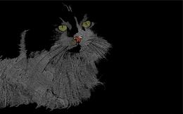 Creative Black Cat Wallpapers HD, HD Desktop Wallpapers 837