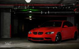 Red BMW M3 1385