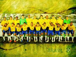 football wallpaper and news: Brazil Team Wallpaper World Cup 2010 1817