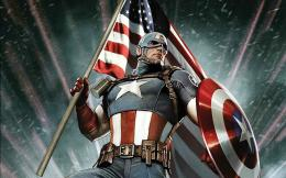 Warrior Captain America | HD Wallpaper 1122