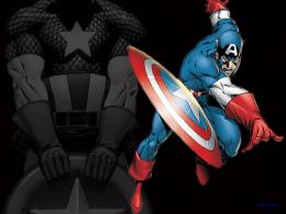 Free Download High quality Captain America Wallpaper Num8 : 1600 x 455