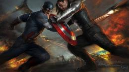 Captain America The Winter Soldier Artwork Wallpapers | HD Wallpapers 551