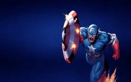 Assault Captain America | HD Wallpaper 1864