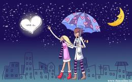 Cartoon Love Wallpapers, Charming Cartoon Love HD Wallpapers For Free 1975
