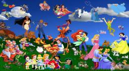 Walt Disney Animation Cartoon Wallpaper #10680 Wallpaper 895