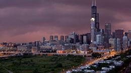 Full View and Download chicago city Wallpaper with resolution of 1604