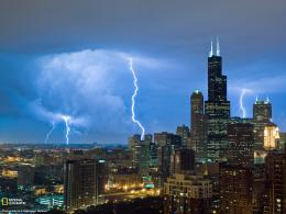chicago city weather at evening 1080p wallpapers 779