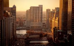 Chicago sunrise Wallpapers Pictures Photos Images 1801