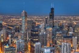 Chicago Cities Free iPad HD Wallpaper 987