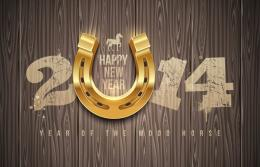New Year wallpapers 2014the year of the wooden horse free download 1248