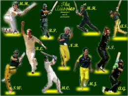 Australia Cricket Team Wallpaper and Photos | Cool Wallpapers 1195