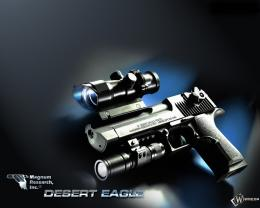 hd Picture, Desert Eagle, Pistol, Desert Eagle, optical sight, laser 961