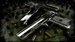 Desert Eagle Pistol Wallpaper, Gun | HD Desktop Wallpapers 1605