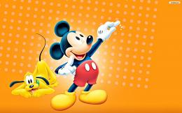Walt Disney WallpapersPluto & Mickey MouseWalt Disney Characters 1437