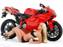 Motorcycles GIRL & DUCATI 1639