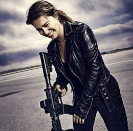 Emilia Clarke Terminator Genisys HD WallpaperStylish HD Wallpapers 543